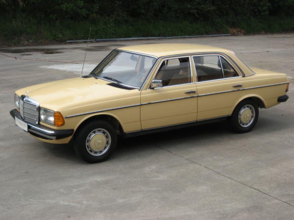 Mercedes beige